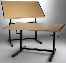 Mayline Ranger Drafting Table Mayline Dual Adjustment Drafting Table 37 1 2 D X 60 W Top
