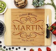recipe engraved cutting board personalized engraved cutting boards st out