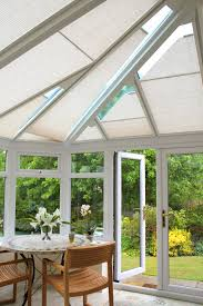 luxaflex conservatory shades come in stylish textures and an