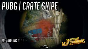 pubg youtube tags pubg crate snipe steveo uk gaming