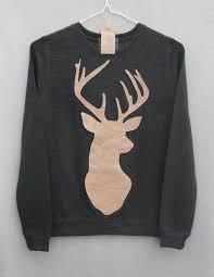 deer sweater on the hunt