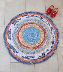 Rag Rug Friendship Bracelet Giant Crocheted Doily Rug Pattern At Long Last Creative Jewish Mom
