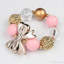 bead pearl bracelet images 2016 kids girl bubblegum bracelet children girls colorful beads jpg