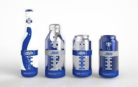 Bud Light Aluminum Bottle Student Bud Light Platinum Game Play U2014 The Dieline Packaging
