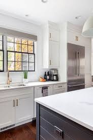 white shaker kitchen cabinets with gray quartz countertops 70 white cabinets with white countertop going out of