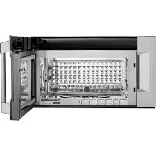 Ventless Microwave Kenmore Pro 89393 1 8 Cu Ft Over The Range Convection Microwave