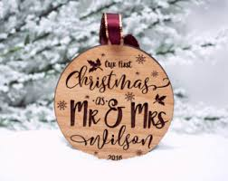 christmas ornaments personalized christmas ornaments etsy