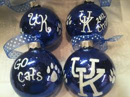 uk ornament of kentucky wildcats set of 4