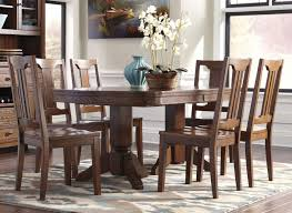 cherry wood dining table and chairs unbelievable ashley kitchen table furniture glass dining picture of