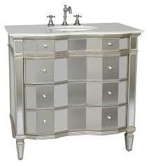 30 inch jamie vanity mirrored sink chest mirrored sink vanity