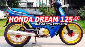 honda dream thái lan 125cc độ đẹp dã man khiến người mê xe honda