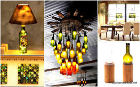 27 ideas of how to recycle wine bottles into pieces of