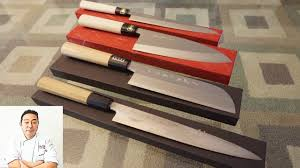 master sushi chef hiroyuki terada u0027s carbon steel knife youtube