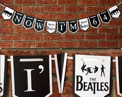 beatles party etsy