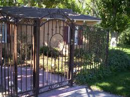 wrought iron fence privacy panels u2013 outdoor decorations