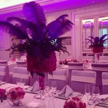 Table Decorations With Feathers Discount Purple Feather Wedding Centerpieces 2017 Purple Feather