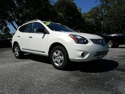 nissan rogue select 2014 pre owned 2015 nissan rogue select s pearl white with only 14k