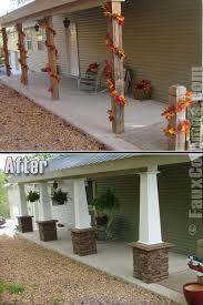 Decorative Column Wraps Decorative Column Ideas Imitation Stone Photo Gallery Home