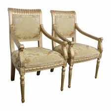 Gold Accent Chair Elegant Interior And Furniture Layouts Pictures Accent Chairs