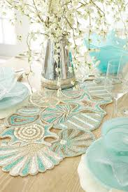 coastal style table runners home design