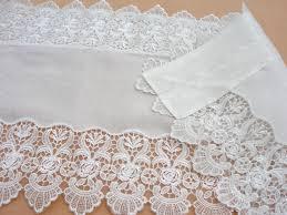 White Lace Valance Curtains White Lace Valance Curtain 40 152cm 015 Wholesale