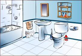 The Bathroom In Spanish Things In The Bathroom Spanish English Flashcards Easy Notecards