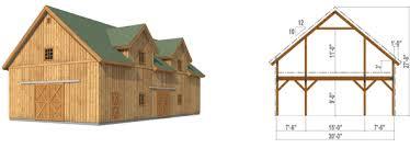 country barn plans pre designed ponderosa country barn kit 2 barn shop pinterest