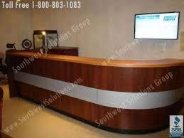 Napoli Reception Desk Front Desk Furniture Discount Office Furniture Mayline Napoli
