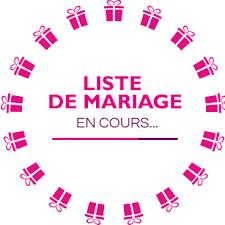 mille mercis mariage liste de mariage de mège et hautus