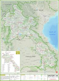 China Map Cities by Large Detailed Map Of Laos With Cities And Towns