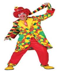 clown bubbles costume men clown costumes