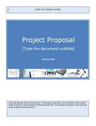 free proposals templates microsoft word