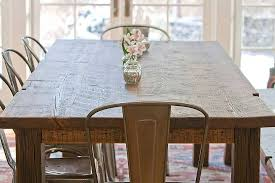 Harvest Dining Room Table Jeff Soderbergh Custom Sustainable Furnishings