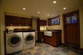 Best Basement Lighting Ideas by Basement Laundry Room Hopesnot Finished But Clean Bright With