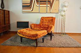 velvet chair and ottoman mid century chair with ottoman ngww me