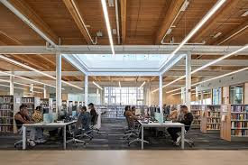 library design albion library perkins will canada archdaily