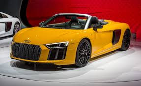 audi r8 spyder convertible 2017 audi r8 spyder photos and info car and driver