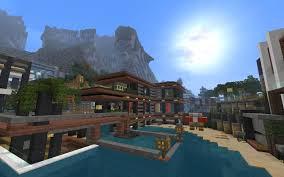 modern villa the luxurious cove house creative mode