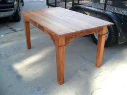 Custom Made Dining Room Furniture Georgeous Custom Built Kitchen Tables Farmhouse Kitchen Table