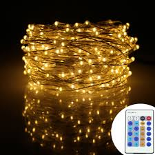 Starry String Lights Amber Lights On Copper Wire by Aliexpress Com Buy 49ft 15m 300leds Silver Wire Warm White Led