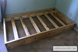 Make Your Own Bed Frame A Simple Diy Bed Frame Snyder