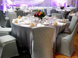 silver chair covers all rentals wedding finesse