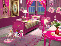 mod the sims barbie bedroom set for little