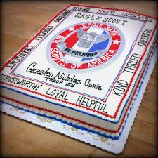 eagle scout cake topper graduation cakes trefzger s bakery