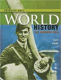 high school world history 2014 pearson student edition modern