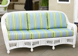 Silver Coast St Lucia  Piece Custom Outdoor White Wicker Patio - Outdoor white wicker furniture