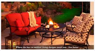 Horseshoe Fire Pit by Outdoor Patio Furniture U0026 Fire Pits Kerrville Tx Out Back Patio