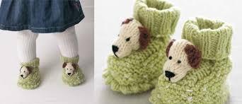 free knitting pattern doggie booties