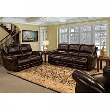 Recliner Living Room Set Living Thurston Leather Power Reclining Living Room Set In