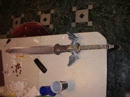 Master Sword Papercraft - papercraft sword by raiz vinleon on deviantart